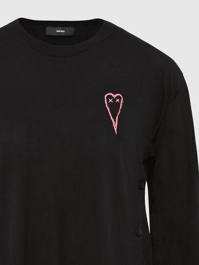 Diesel - M-TERESA, Black - Knitwear - Image 4