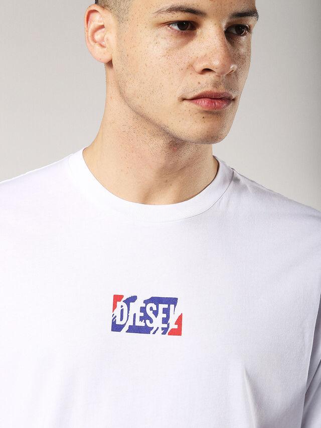 Diesel - T-JUST-ZC, White - T-Shirts - Image 5
