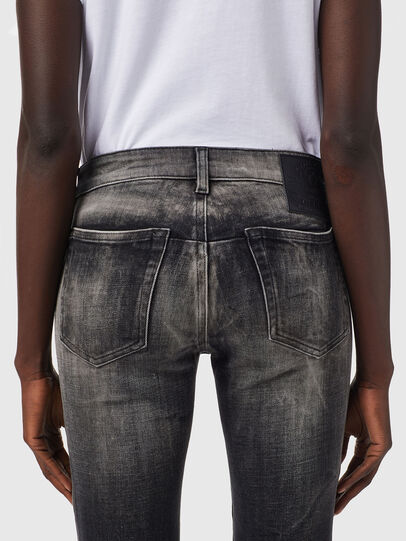 Diesel - D-Jevel 09B18, Black/Dark grey - Jeans - Image 4