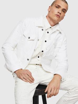 NHILL, White - Denim Jackets