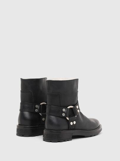 Diesel - D-THROUPER AB W, Black - Ankle Boots - Image 3