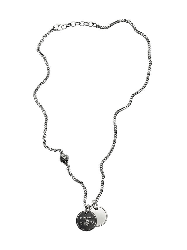 NECKLACE DX1091, Silver