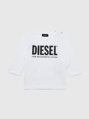 TJUSTLOGOB ML, White - T-shirts and Tops