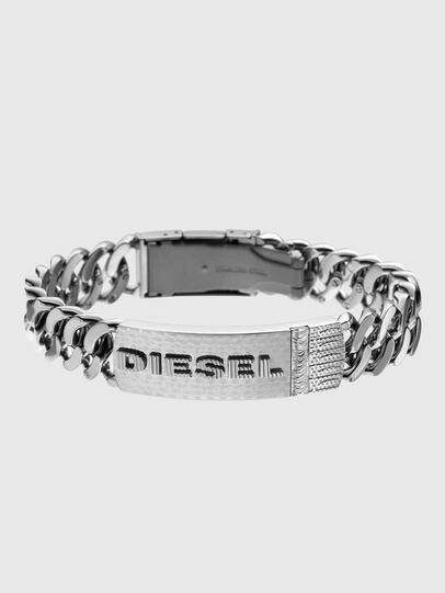 Diesel - DX0326, Silver - Bracelets - Image 1