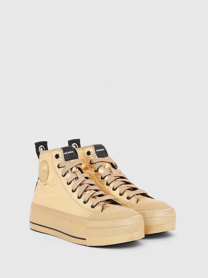 Diesel - S-ASTICO MC WEDGE, Gold - Sneakers - Image 2