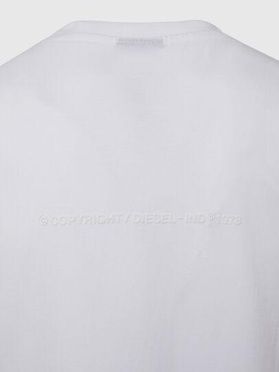 Diesel - T-TUBOLAR-X20, White - T-Shirts - Image 4