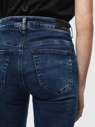Diesel - Slandy High 0094Z, Dark Blue - Jeans - Image 4