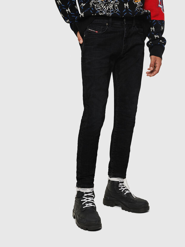 D-Strukt 0091I, Black/Dark grey - Jeans