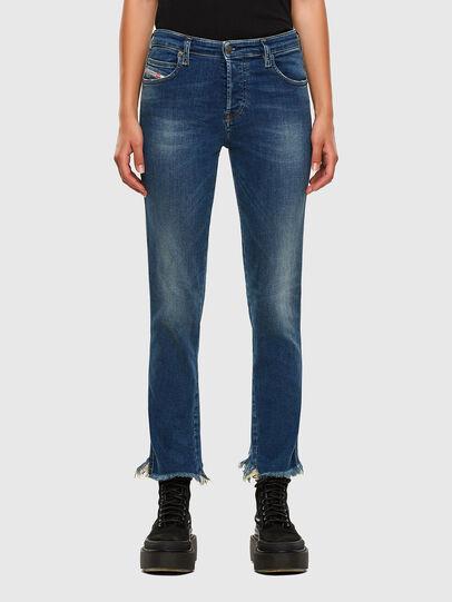 Diesel - Babhila-Zip 009EZ, Medium blue - Jeans - Image 1