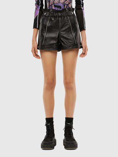 Diesel - L-KUNA, Black - Shorts - Image 1