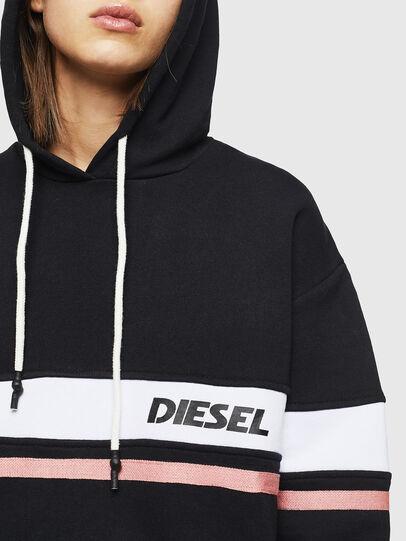 Diesel - UFLT-PHYLO-HOOD, Black - Sweaters - Image 3