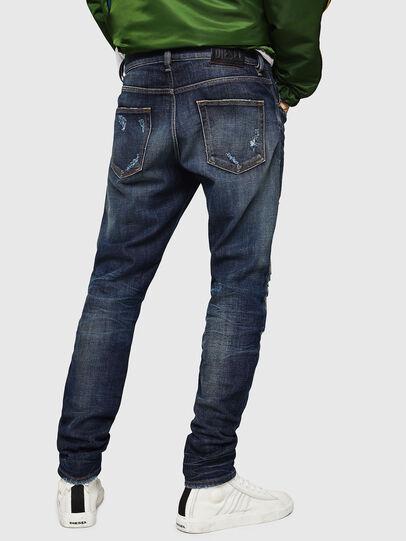 Diesel - D-Strukt 0890W, Dark Blue - Jeans - Image 2