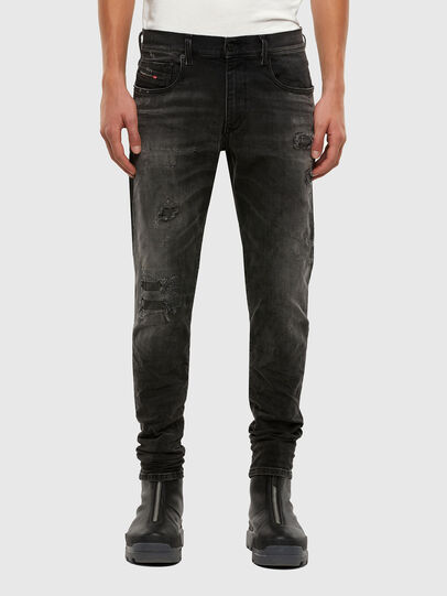 Diesel - D-Strukt 069RC, Black/Dark grey - Jeans - Image 1