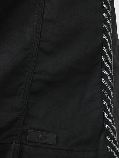 Diesel - D-JANA JOGGJEANS, Black/Dark grey - Dresses - Image 3