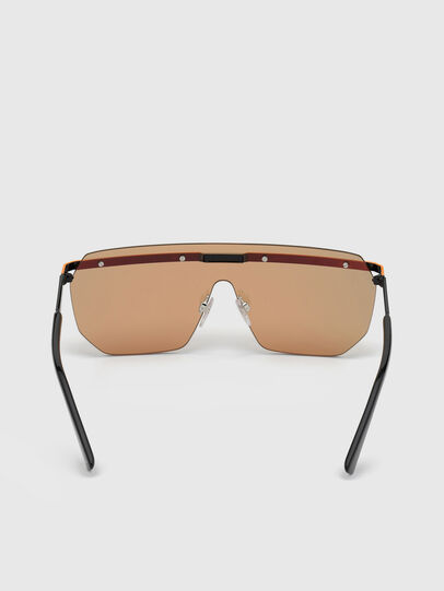 Diesel - DL0259, Orange/Black - Sunglasses - Image 3