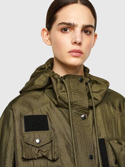 Diesel - G-NEVA, Olive Green - Jackets - Image 3