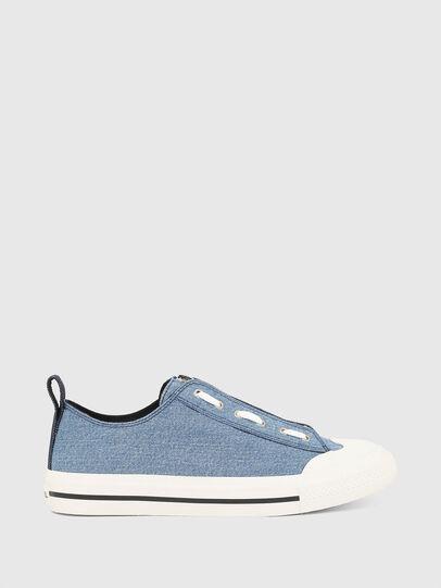 Diesel - S-ASTICO LZIP, Blue - Sneakers - Image 1