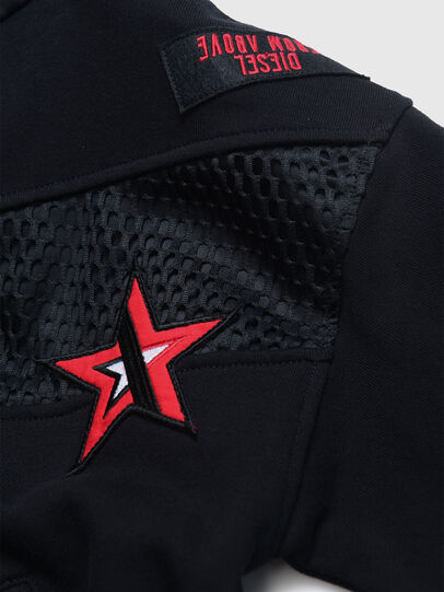 Diesel - SFMINEC OVER, Black - Sweaters - Image 3