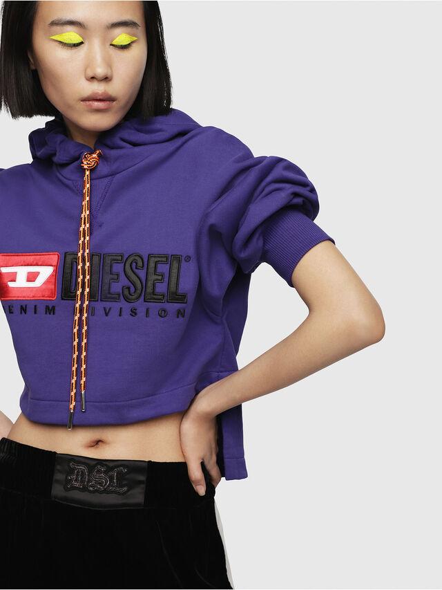 Diesel - F-DINIE-A, Violet - Sweaters - Image 3