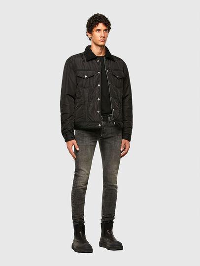 Diesel - W-JORGE, Black - Winter Jackets - Image 6