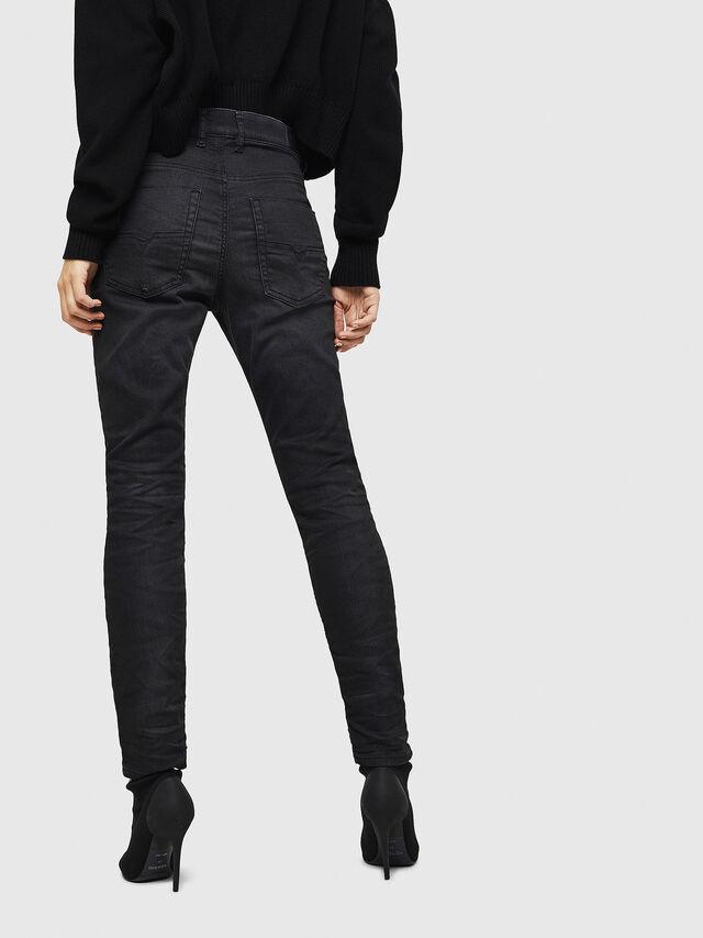 Diesel - Krailey JoggJeans 069GN, Black/Dark grey - Jeans - Image 2