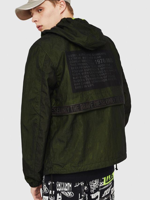 Diesel - J-HISAMI, Dark Green - Jackets - Image 2