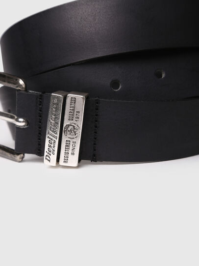 Diesel - B-GUARANTEE, Black - Belts - Image 2