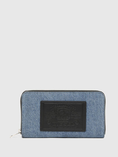 Diesel - GRANATO LC, Blue/Black - Zip-Round Wallets - Image 1