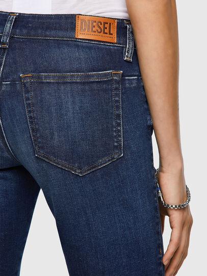 Diesel - D-Jevel 09A30, Dark Blue - Jeans - Image 5