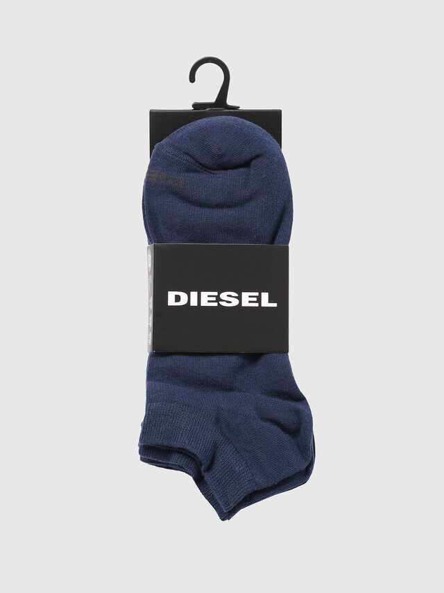 Diesel - SKM-GOST-THREEPACK, Blue - Low-cut socks - Image 2