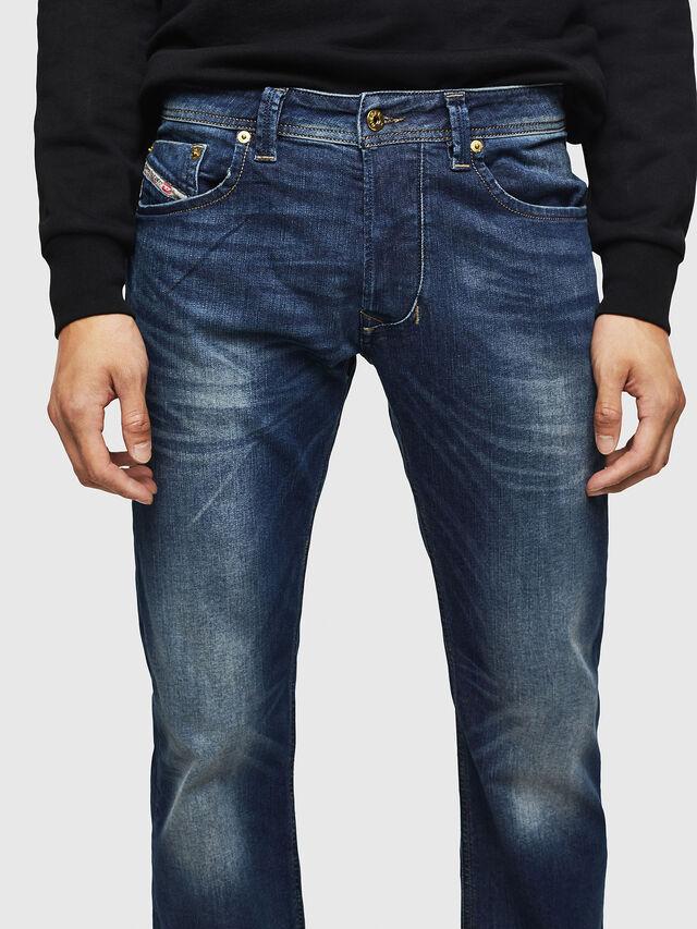 Diesel - Larkee 0853R, Dark Blue - Jeans - Image 3