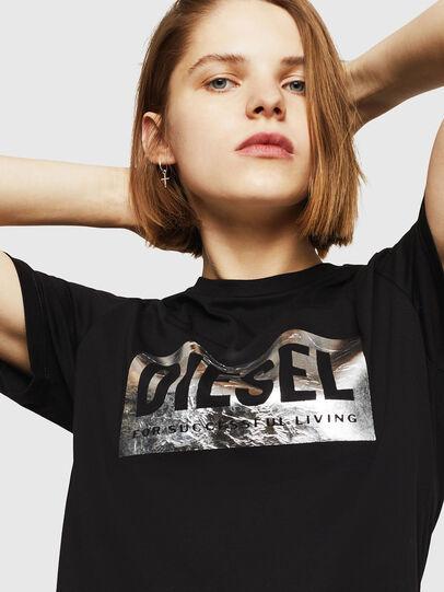 Diesel - T-FOIL, Black - T-Shirts - Image 3