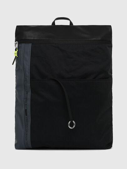 Diesel - L-TOLLE BACK, Black/Blue - Backpacks - Image 1