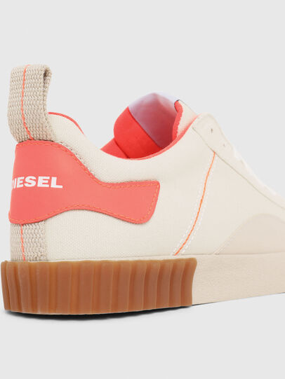 Diesel - S-BULLY LC W, White/Pink - Sneakers - Image 4