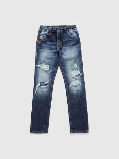 Diesel - KROOLEY-NE-J, Medium blue - Jeans - Image 1
