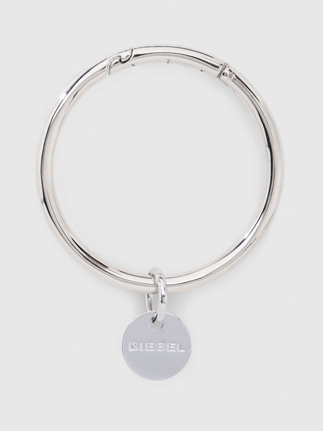Diesel - CL-METAL BANGLE, Silver - Bijoux and Gadgets - Image 1