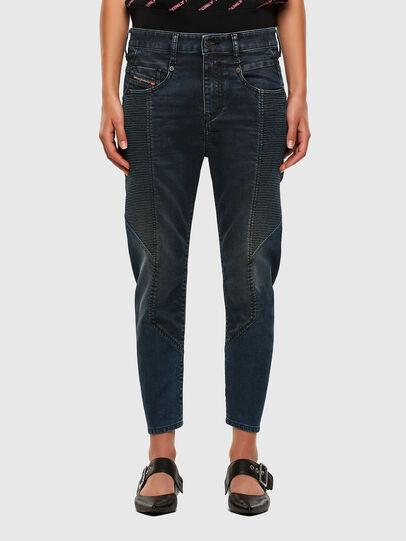 Diesel - FAYZA JoggJeans® 069PQ, Dark Blue - Jeans - Image 1