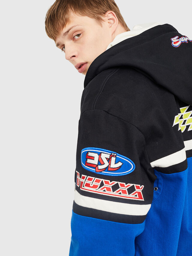 Diesel - J-RAIDEN, Blue/Black - Jackets - Image 4