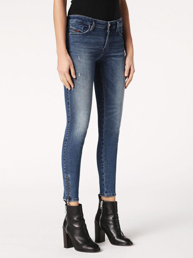 SKINZEE-ZIP 0689I, Blue Jeans