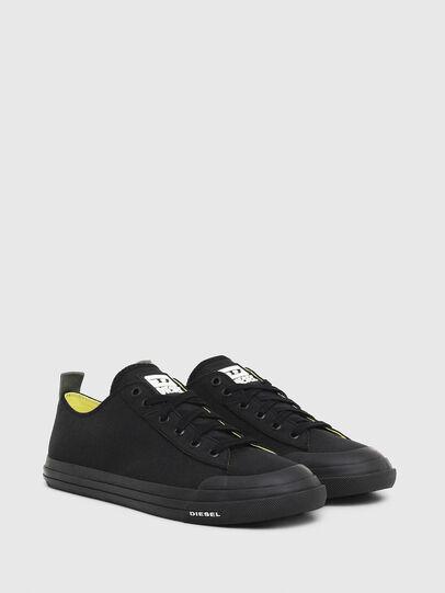 Diesel - S-ASTICO LOW CUT, Black - Sneakers - Image 2