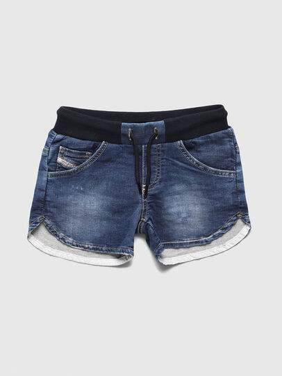 Diesel - PRONNY JOGGJEANS, Medium blue - Shorts - Image 1