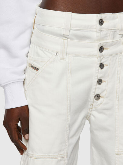 Diesel - D-Laly 0HDAI, White - Jeans - Image 4