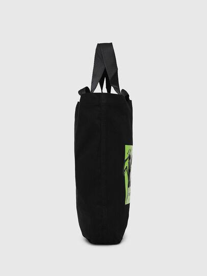 Diesel - LYVENZA, Black/Green - Shopping and Shoulder Bags - Image 3