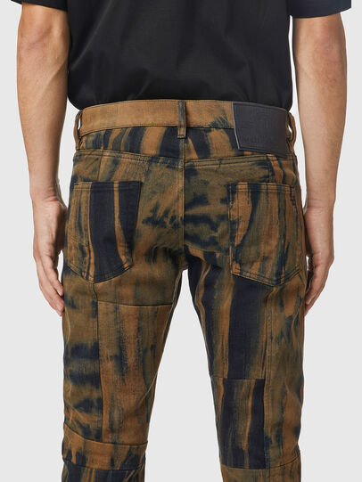 Diesel - D-Strukt 09B34, Black/Brown - Jeans - Image 4