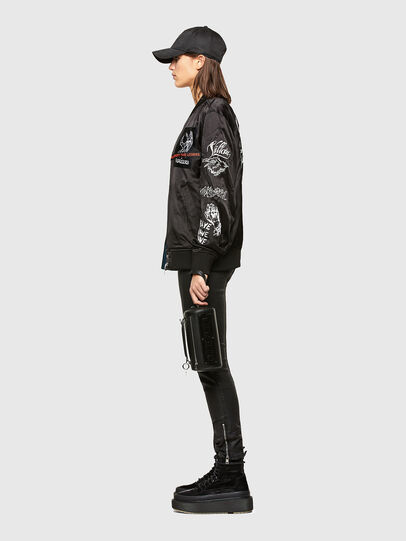 Diesel - J-SMOKED, Black - Jackets - Image 5