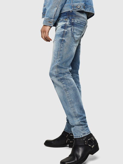 Diesel - Thommer 0092F, Light Blue - Jeans - Image 5