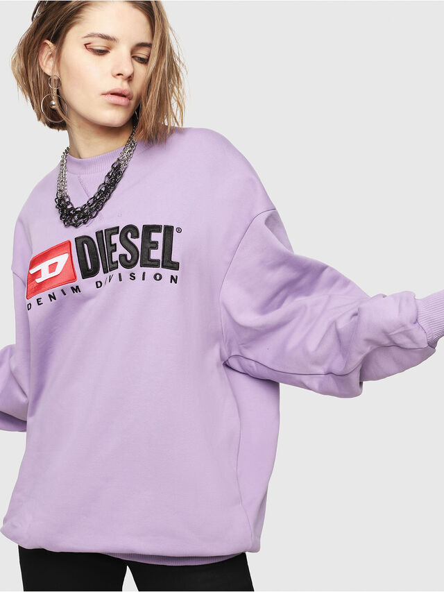 Diesel - F-ARAP, Lilac - Sweaters - Image 1