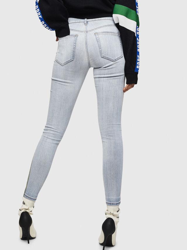 Diesel - Slandy 0090E, Light Blue - Jeans - Image 2