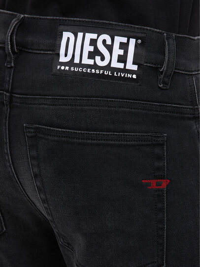Diesel - D-Amny 009KS, Black/Dark grey - Jeans - Image 5