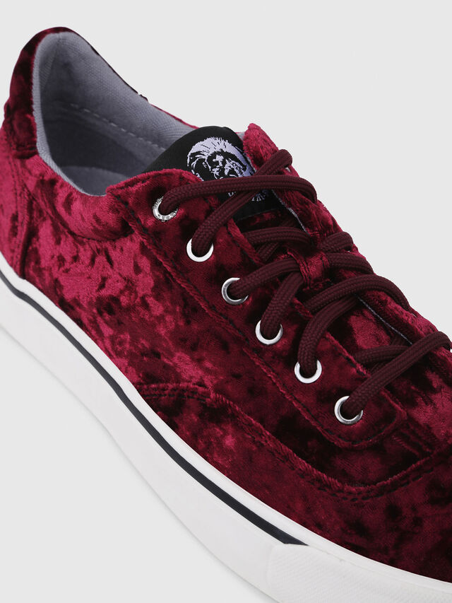 Diesel - S-FLIP LOW W, Bordeaux - Sneakers - Image 5